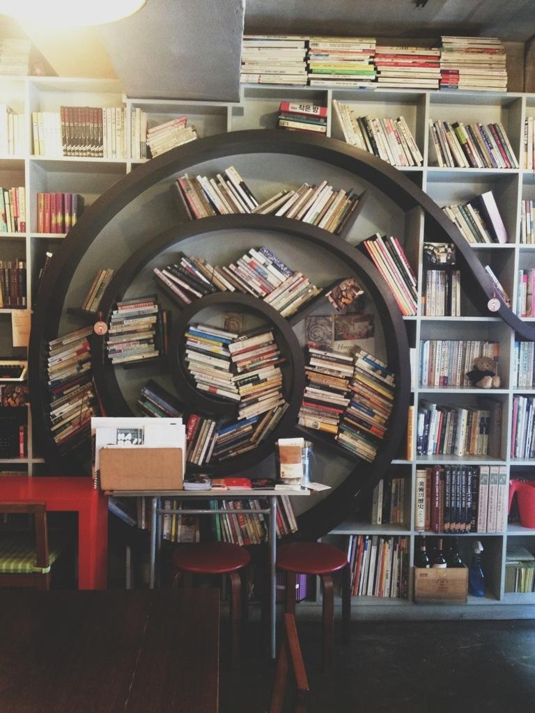 A book cafe:작업실